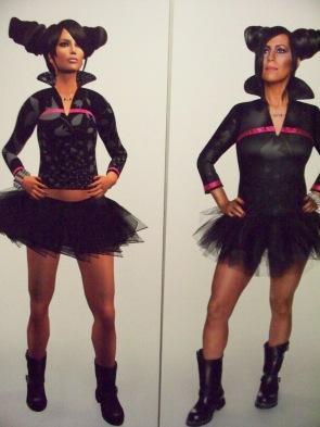 Un projet à venir: à gauche, un avatar et à droite, l'artiste Skawennati