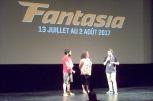 Deux représentants de l'incontournable événement Les fantastiques week-ends du cinéma québécois.
