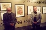 Ainslin, accompagné de Christian Vachon, conservateur/peintures, estampes et dessins.