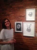 L'artiste Suzanne Lafrance, invitée au Magazine radio In situ et exposant à la Galerie Bernard jusqu'au 23 juin 2018;