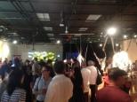 Vernissage de l'expo Passages convergents à la salle de diffusion Parc-Extension